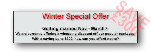 Massive saving for winter weddings - CLICK