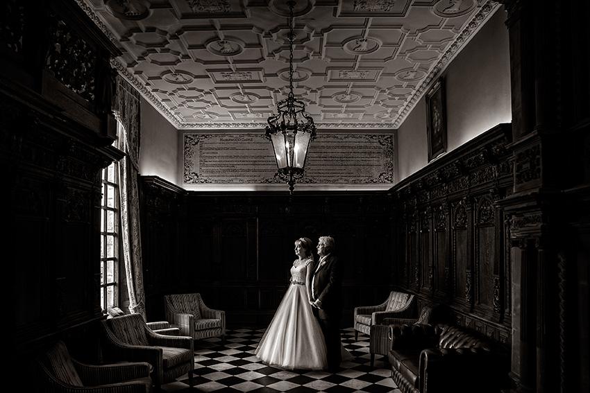 Hazlewood Castle Wedding Pictures - 009