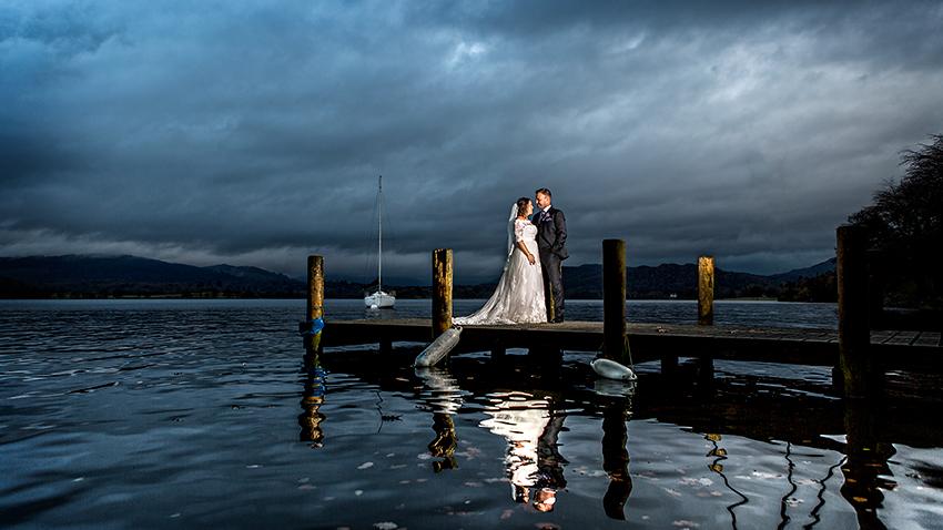 Langdale Chase Hotel Wedding Photography