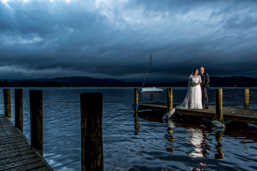 Langdale Chase Windermere Wedding Photography - 0011