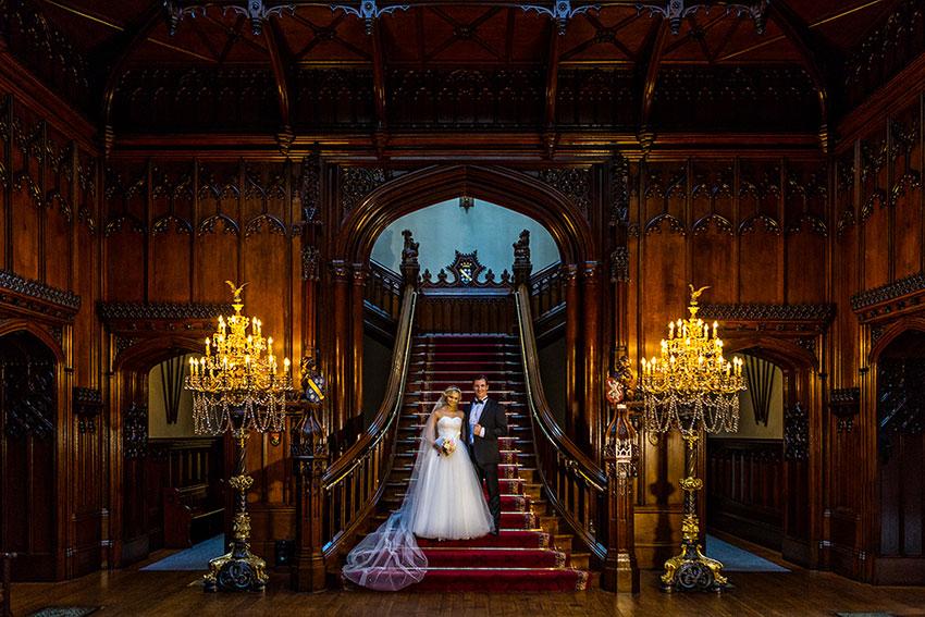 Allerton Castle Wedding Photography - 0013