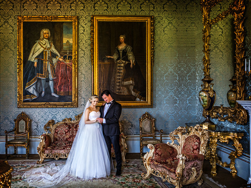 Allerton Castle Wedding Photography - 0026