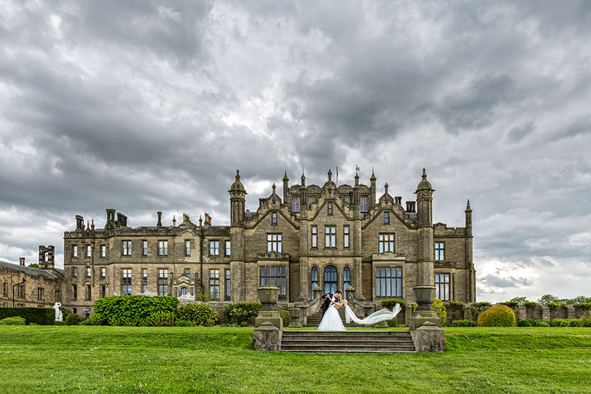 Allerton Castle Wedding Photography - 0035