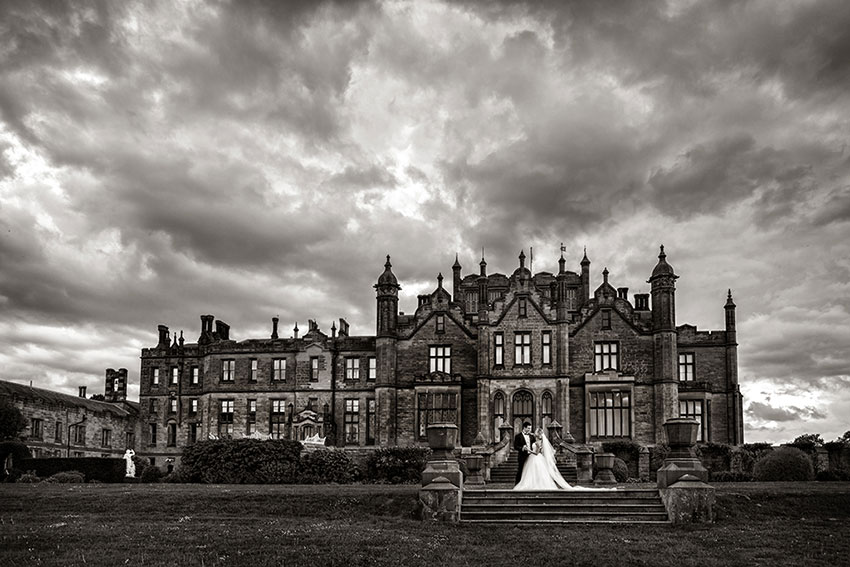 Allerton Castle Wedding Photography - 0039