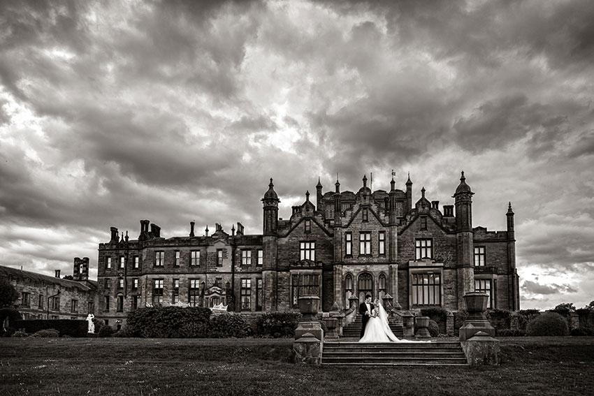 Allerton Castle Wedding Photography - 0039