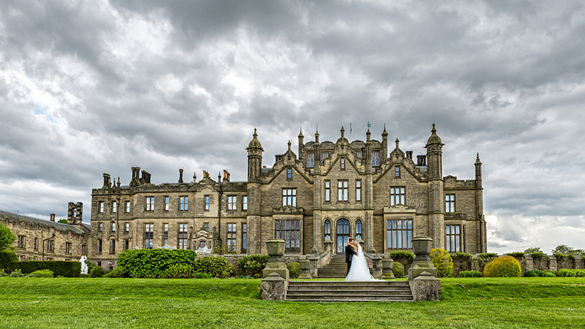 Allerton Castle Wedding Photography - 0041