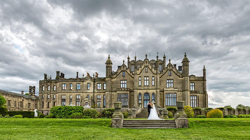Allerton Castle Wedding Photography - 0041