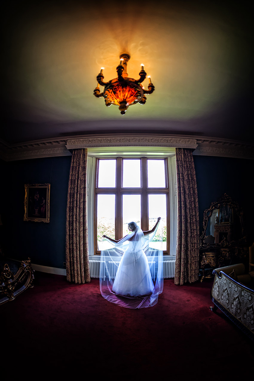 Allerton Castle Wedding Photography - 0047