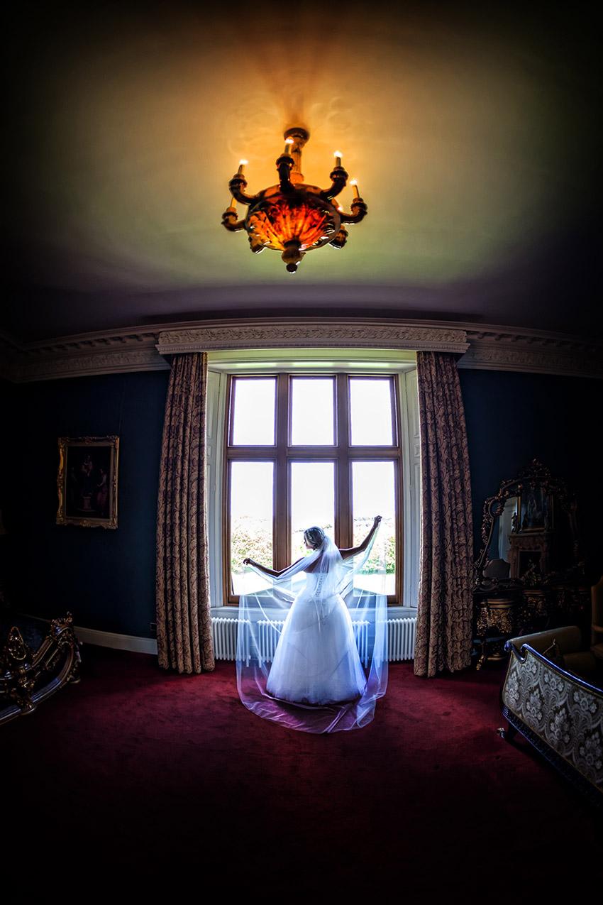 Allerton Castle Wedding Photography - 0047