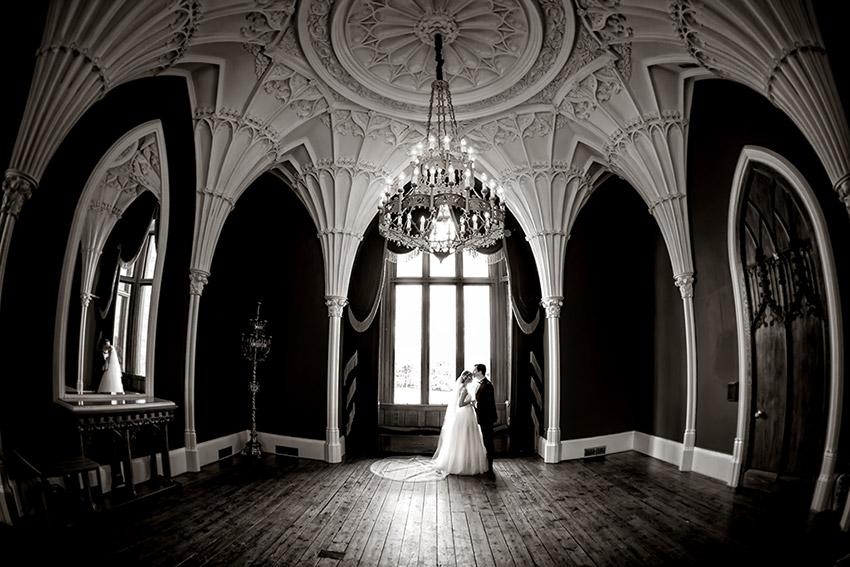 Allerton Castle Wedding Photography - 0049