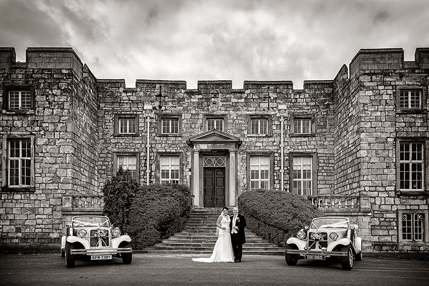 Hazlewood Castle Weddings - Wedding Photography - 0014