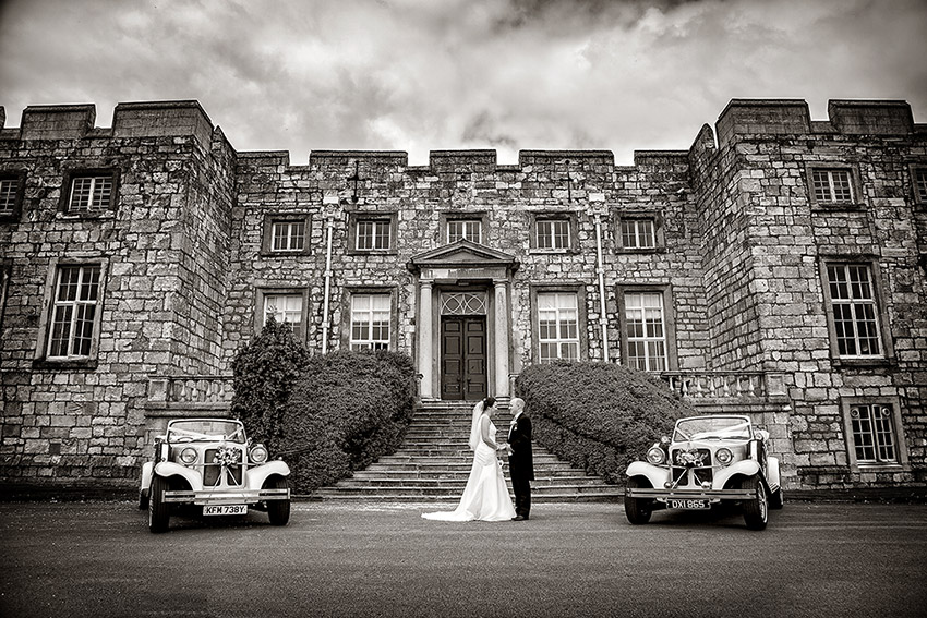 Hazlewood Castle Weddings - Wedding Photography - 0015