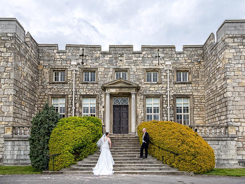Hazlewood Castle Weddings - Wedding Photography - 0016